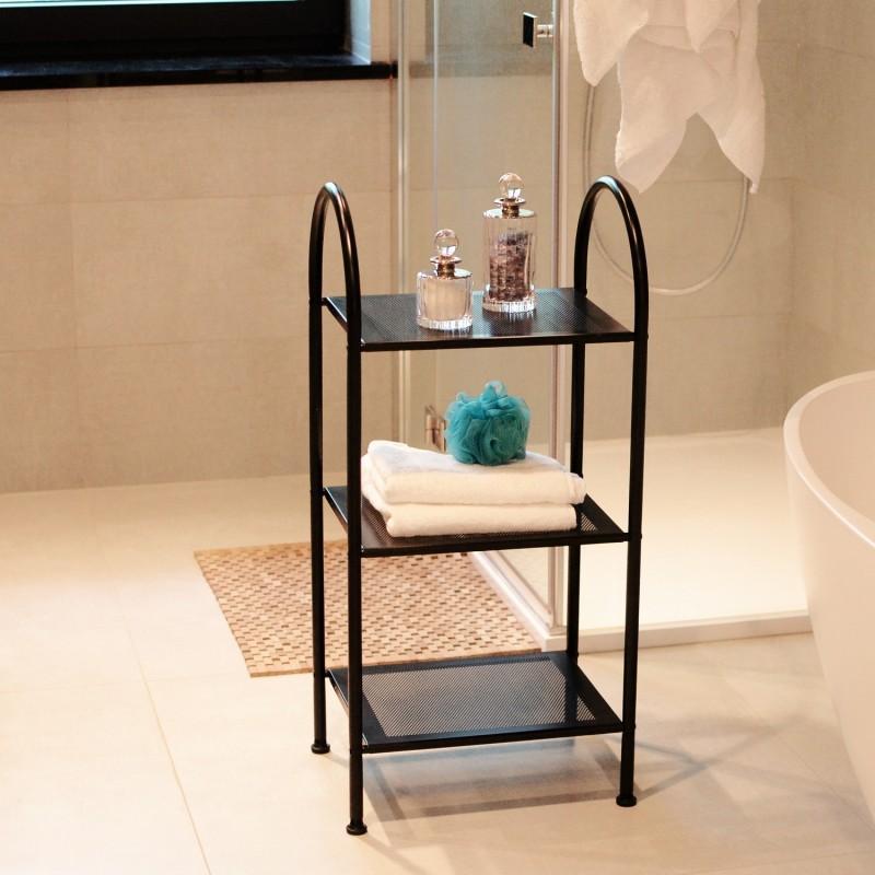 Meble łazienkowe Chrom Regały I Półki Homuspl